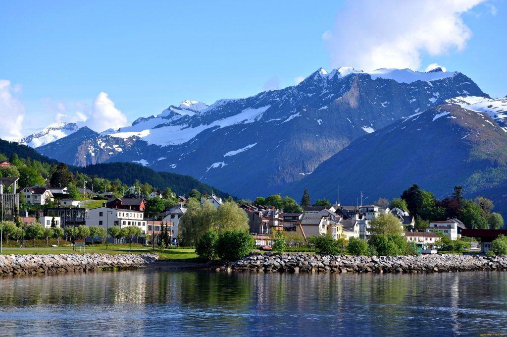 Норвегия, красивый вид