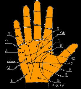 Родинка на пальце левой руки