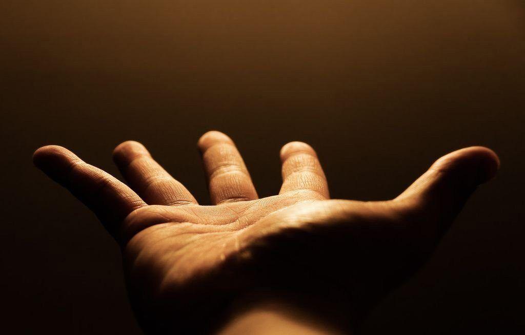 судьба в руке
