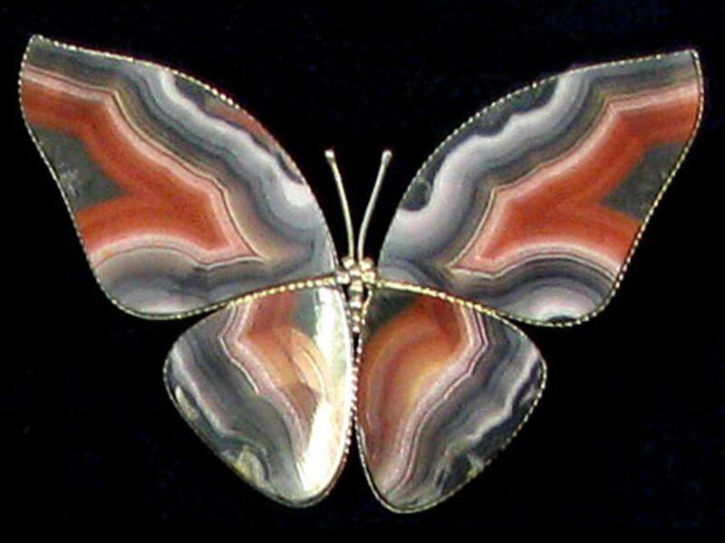 Агатовая бабочка