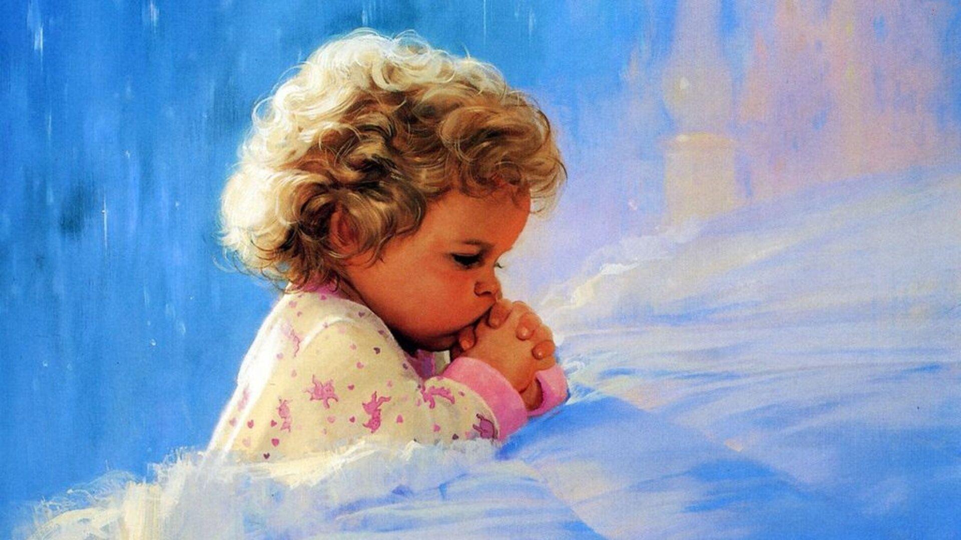 Дитя молится