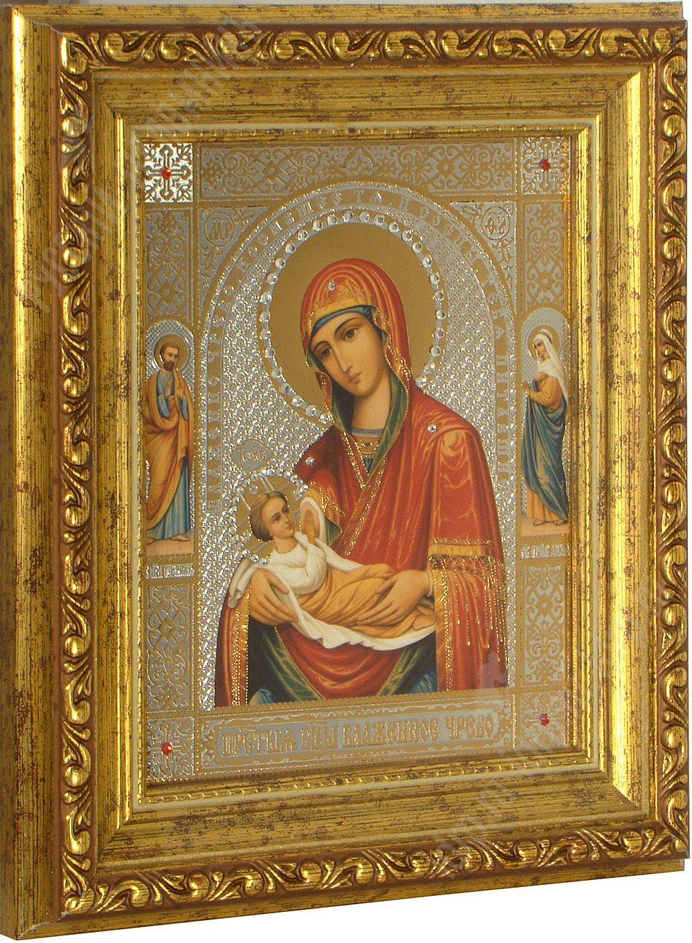 Икона божьей Матери Блаженное Чрево