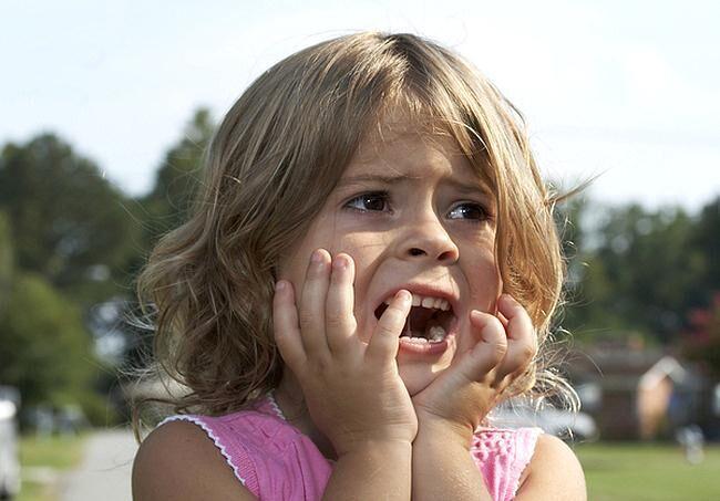 Испуг у ребенка