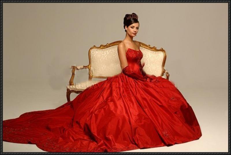 Красное платье невесты