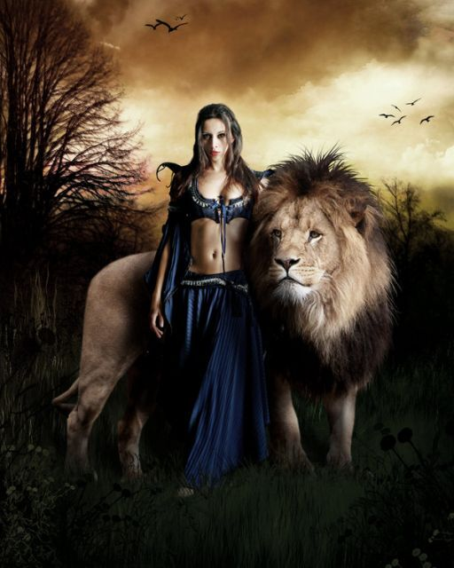 Лев и Дева