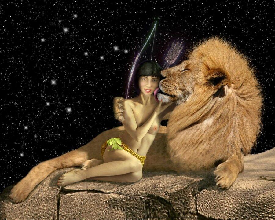 Лев и стрелец