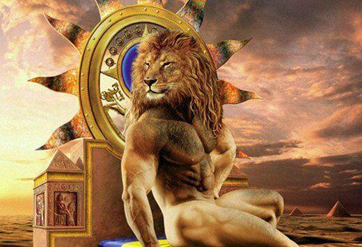 Льву хорошо с весами