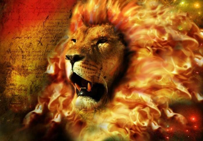 Лев великолепен