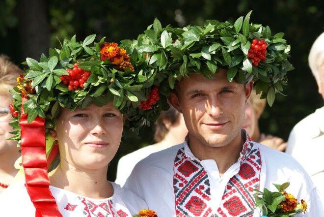Традиционная свадьба славян