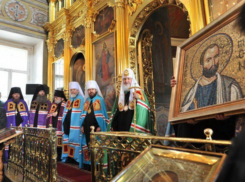 Храм Святителя Николая Болгарское подворье