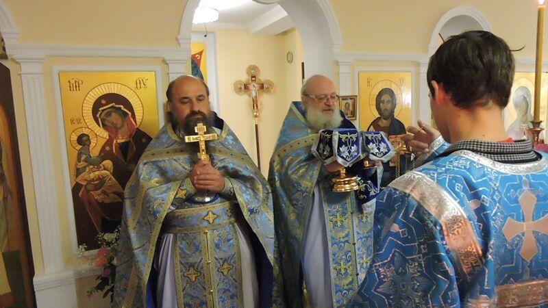 Празднование в честь иконы Блаженное Чрево