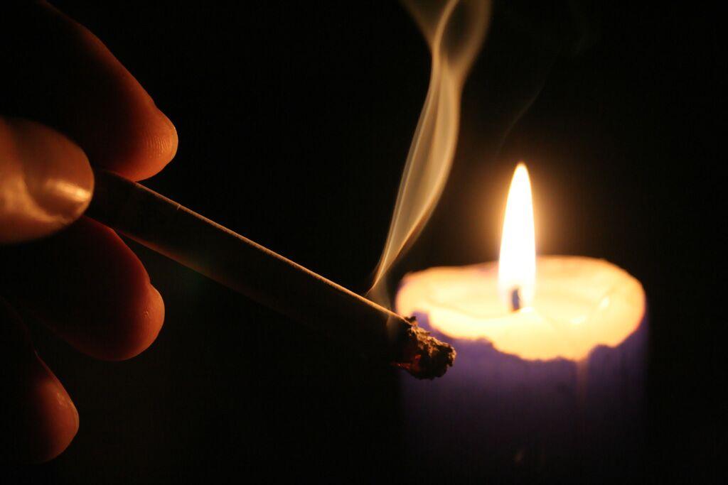 Обряд с сигаретой