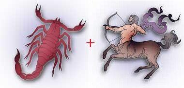 Скорпион и стрелец