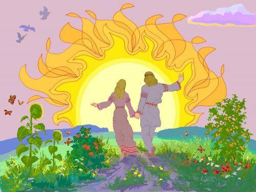 Славяне оченьпочитали Солнце