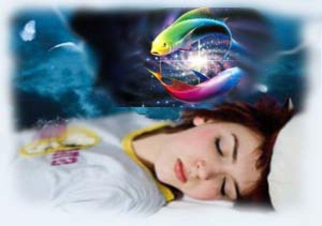 Девушка видит во сне рыбу