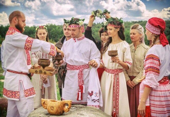 Обережная славянская свадьба