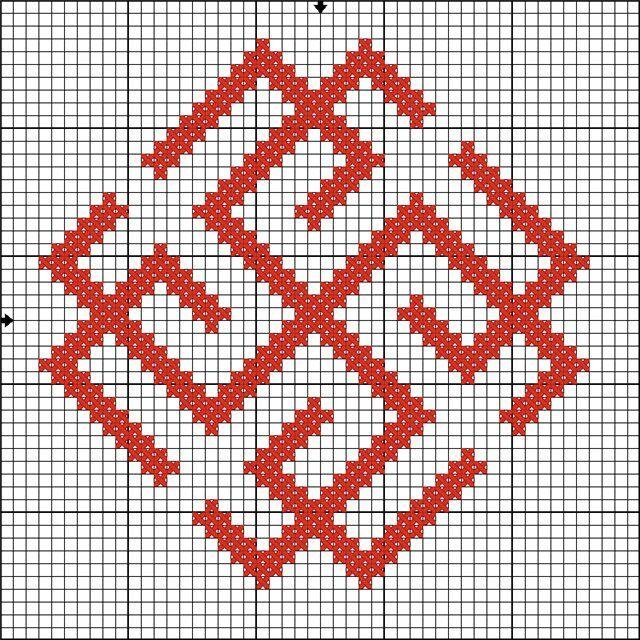 Сварожич - схема для вышивки
