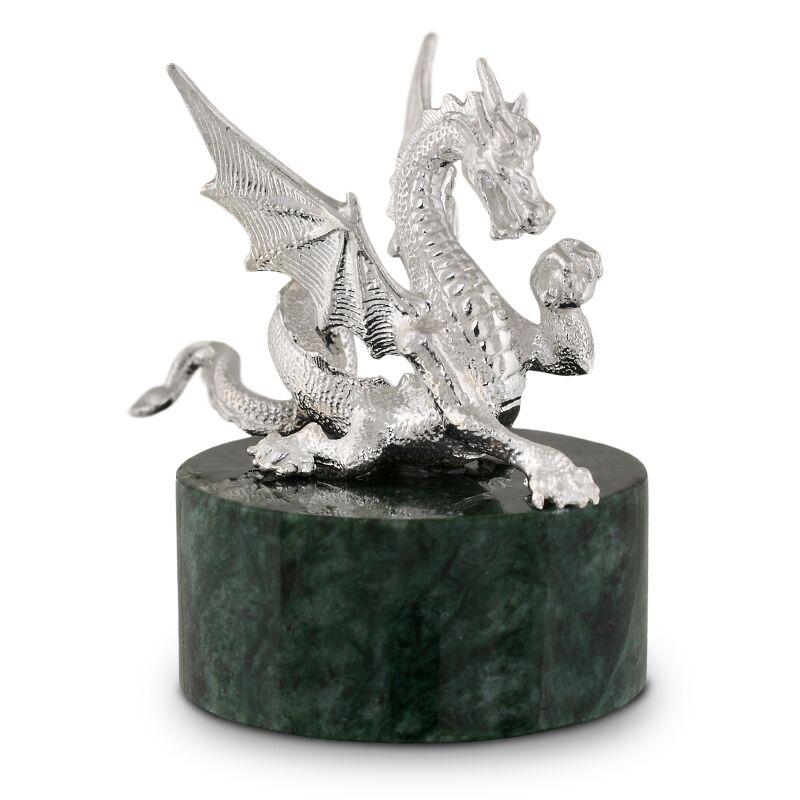 Серебряный дракон - талисман весов