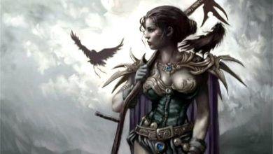 Скандинавская ведьма