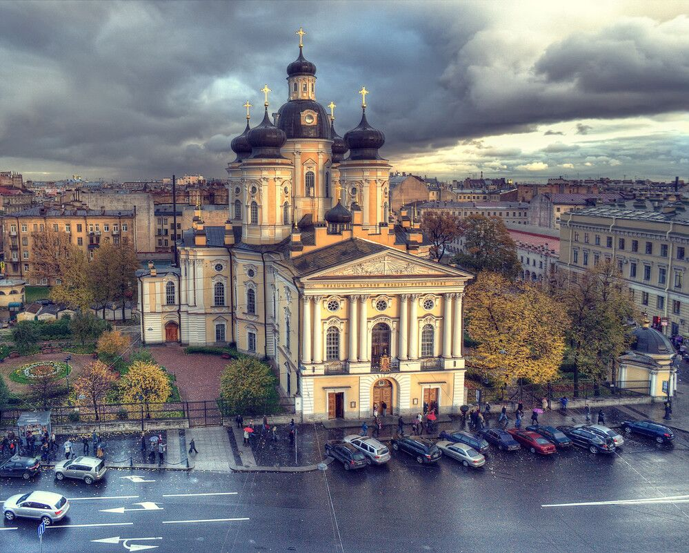 Собор в честь иконы Божией Матери Владимирская в Санкт-Петербурге