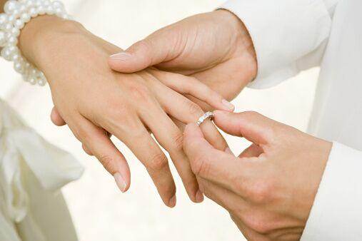 Безымянный палец - символ брака