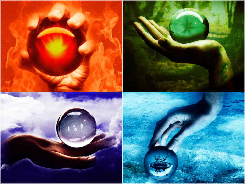 Четыре стихии природы