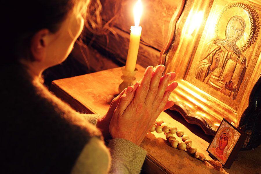 Моление в домашних условиях