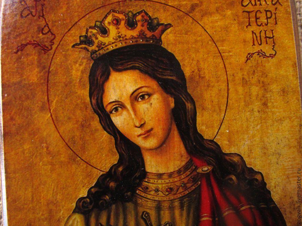 Икона Екатерины Великомученницы