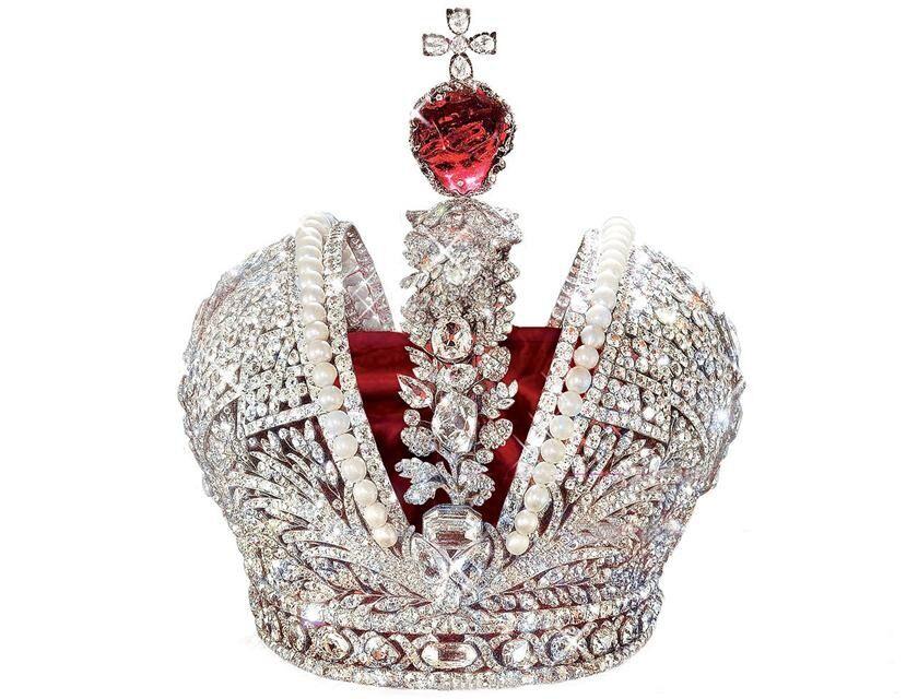 Шпинель в короне Российской Империи