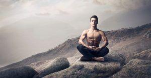 Медитация поза лотоса