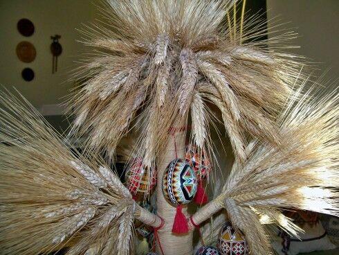 Оберег из пшеницы