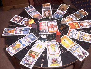 Гадание на картах таро - расклады
