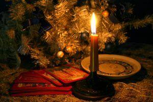 Рождественские гадания на воске