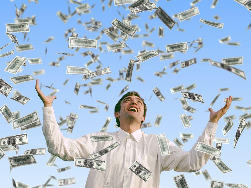 Счастливая денежная купюра
