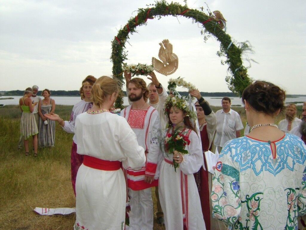 Венчание у староверов