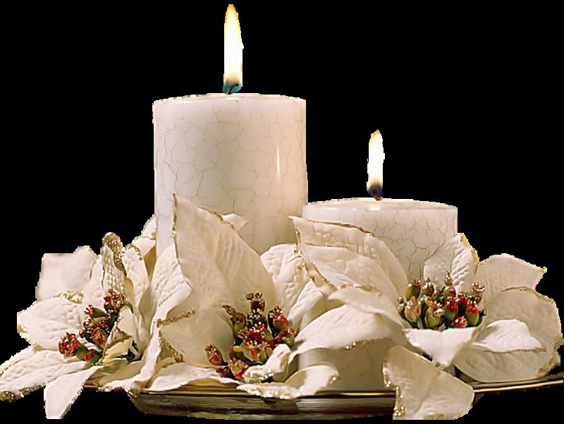 Помолитесь перед зажженными свечами