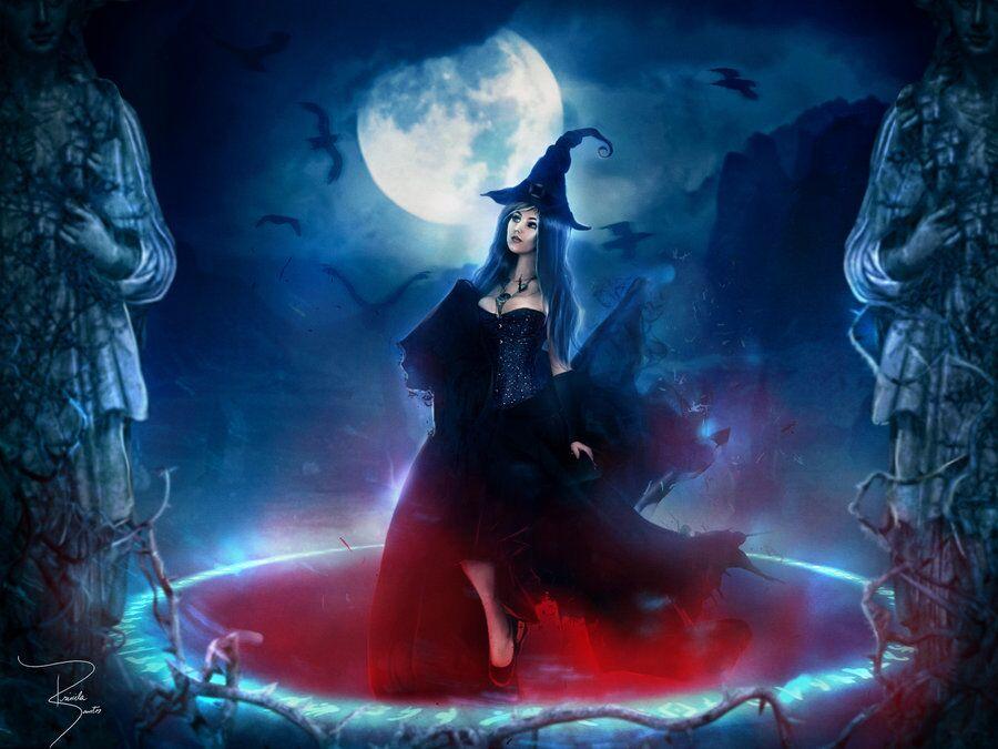 месячные у ведьмы