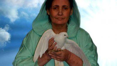 Вера Лион и голубь мира