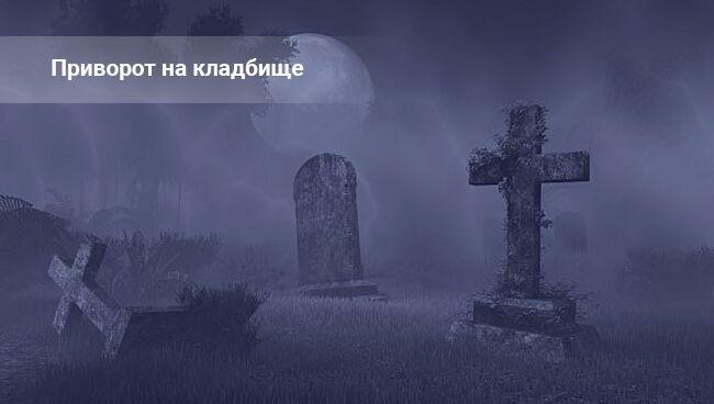 Кладбищенский приворот по фото